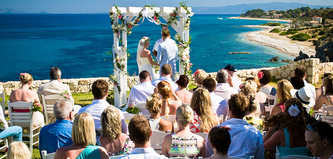 If You Are Thinking Of Getting Married Abroad Our Villa Brio Complex Provides The Ideal Setting For Your Greek Island Wedding